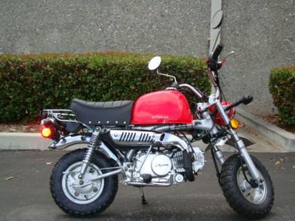 124cc mini street legal motor bike. Black Bedroom Furniture Sets. Home Design Ideas