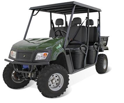 Landmaster 650cc 48v 4wd Hybrid Utility Vehicle Utv W 4 Seats