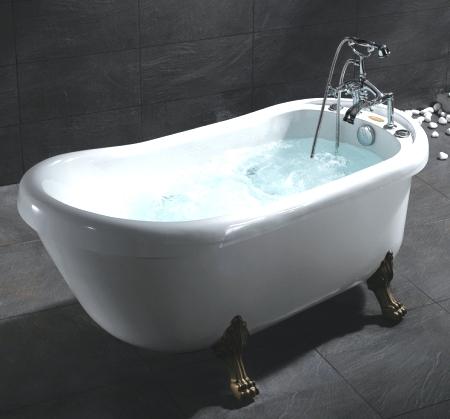 Whisper brand new ariel bt 062 whirlpool jetted bath tub for Top bathtub brands