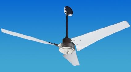 solar powered 12 24 volt ceiling fan with 3 blades. Black Bedroom Furniture Sets. Home Design Ideas