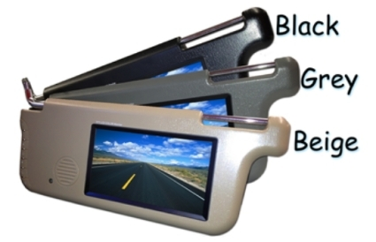 7 Quot Visor Monitor With Wireless Mounted Rv Backup Camera System