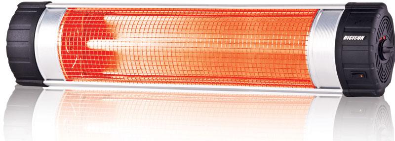 Digi infrared instaheater 3000 watt - Stufe elettriche a parete per bagno ...