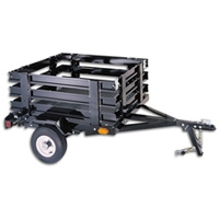 Brand New 4 X 5 Quot Bed Size Utility Cargo Box Flat Bed Trailer