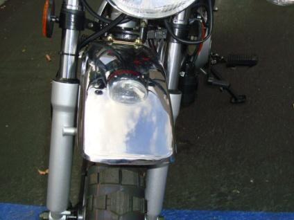 124cc Mini Street Legal Motor Bike