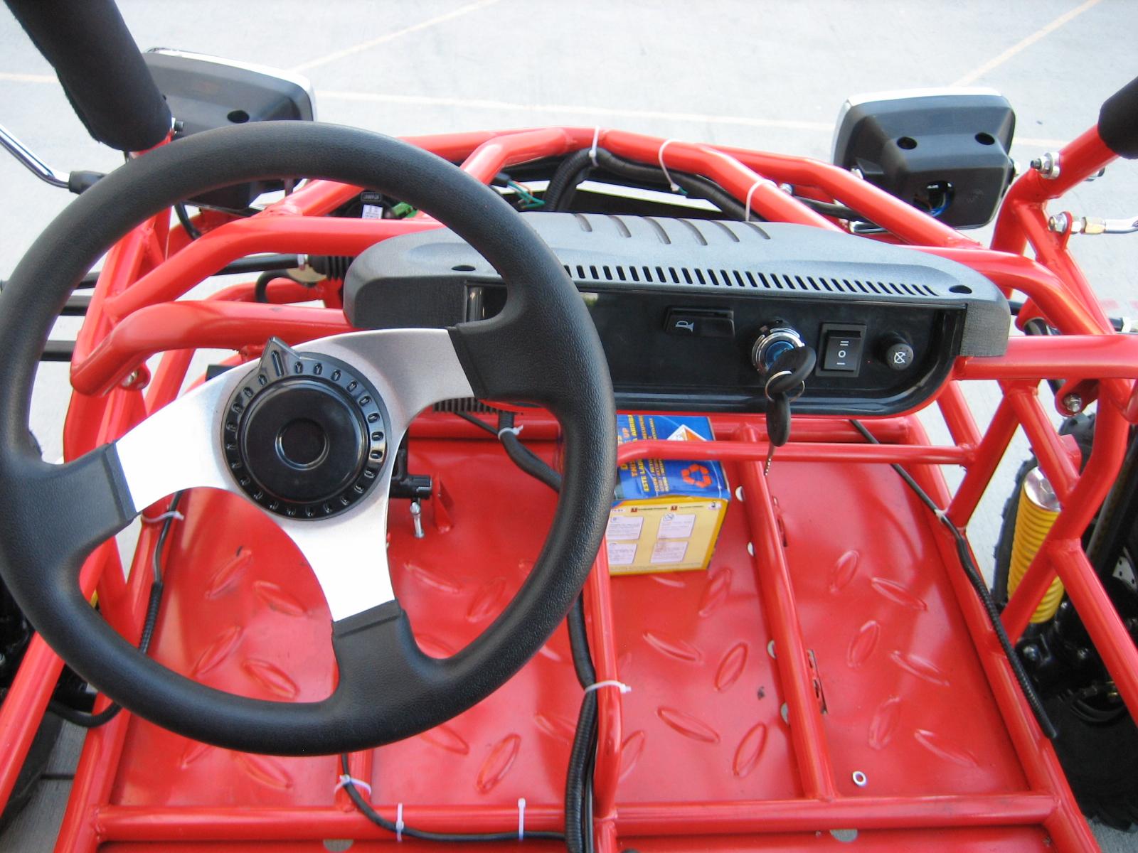 150cc Dirt Hugger 4 Stroke Go Kart